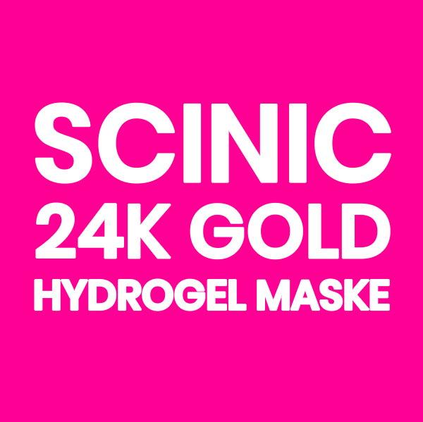 scinic 24k altın maske